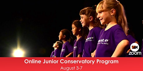 Online Junior Conservatory Program - August Session tickets