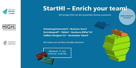 StartHI - Enrich your Team Tickets