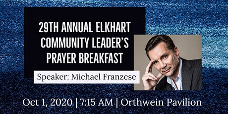 29th Annual Elkhart Community Leader's Prayer Breakfast tickets