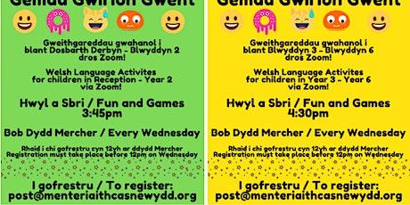 Gemau Gwirion Gwent (Gwent Silly Games) tickets
