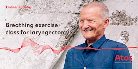 Laryngectomy Breathing Exercise Workshop tickets