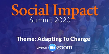 2020 Online  Social Impact Summit tickets