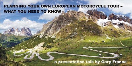 Planning your own European motorcycle tour – what you should bear in mind tickets