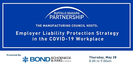 Mfg Council Mtg.- Employer Liability Protection Strategy-Covid-19 Workplace tickets