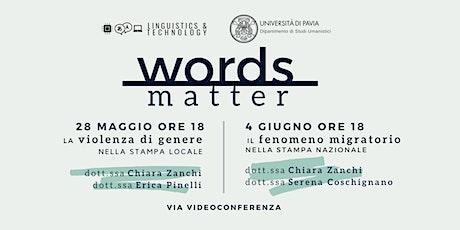 Words Matter: due ricerche per raccontare il progetto biglietti