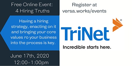 4 Hiring Truths with TriNet tickets
