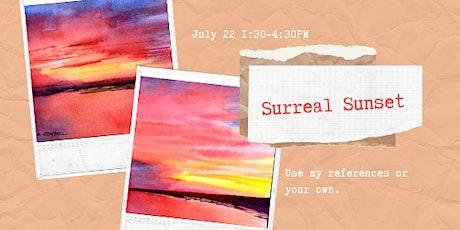 Surreal Sunset biglietti