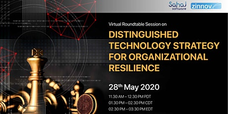 Distinguished Technology Strategy for Organizational Resilience biglietti