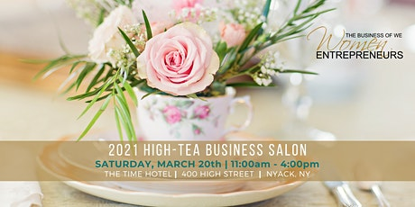 2021 HIGH-TEA BUSINESS SALON tickets