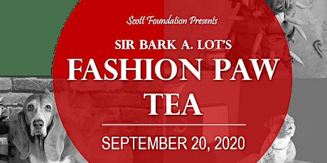 Fashion Paw Tea tickets