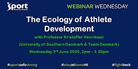 #WebinarWednesday: The Ecology of Athlete Development tickets