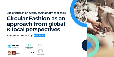 Circular fashion as an approach from global and local perspectives tickets