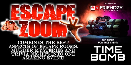 Escape Zoom - An Online Escape Room, Murder Mystery & Trivia Event tickets