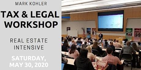Indianapolis - Tax & Legal Workshop Mark Kohler tickets