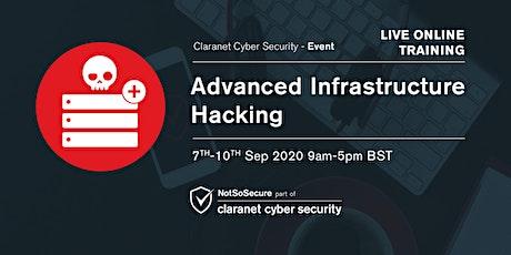 Advanced Infrastructure Hacking - Live Online Training UK biglietti