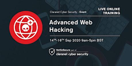 Advanced Web Hacking - Live Online Training UK tickets