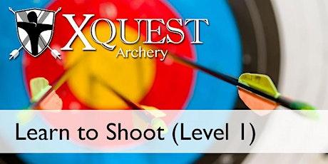 (JUL)Archery 7-week lessons:Level 1 - Saturdays @ 10:30 am (LTS1) tickets