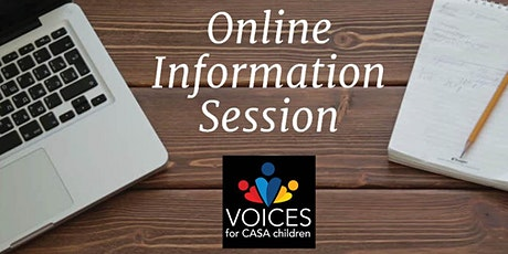 Online: Learn About Becoming a CASA Volunteer tickets