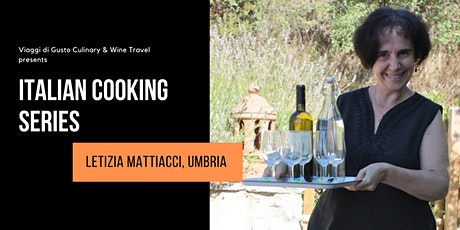 Italian Cooking Series with Letizia Mattiacci direct from Italy tickets