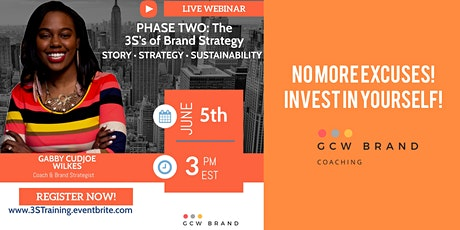 The 3Ss of Brand Strategy: Story, Strategy, & Sustainability tickets