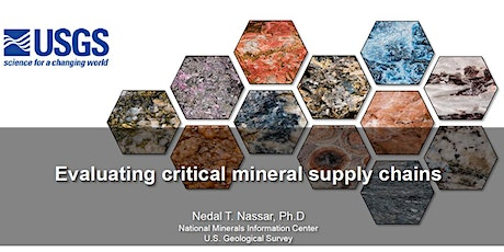 Evaluating Critical Mineral Commodity Supply Chains tickets