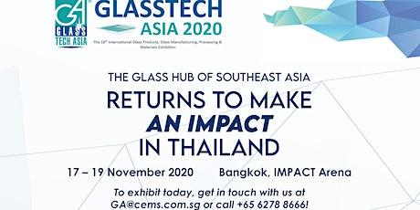 Glasstech Asia 2020 tickets