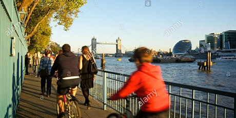 Community cycle & discussion on the Thames Path Pledge tickets