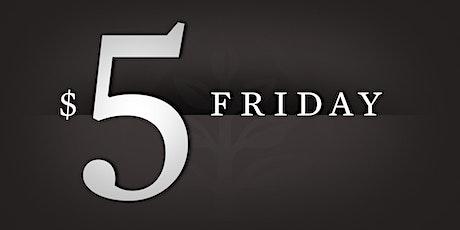 $5 Fitness Fridays tickets