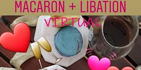 Virtual Macaron + Libation Pairing Trivia tickets
