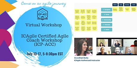 Online ICP-ACC Agile Coach Certification Workshop tickets