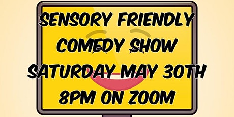 Sensory Friendly Comedy Show on ZOOM tickets
