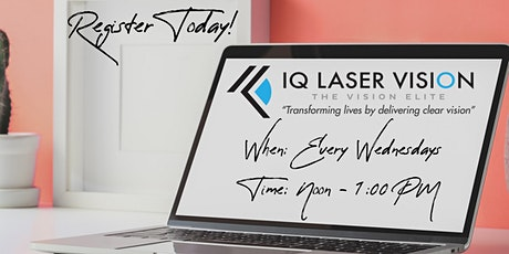 Laser Vision Correction Open House with Dr. Robert T. Lin tickets