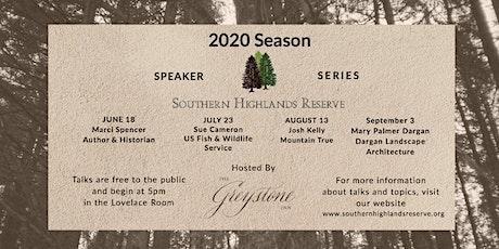 SHR Speaker Series - September tickets