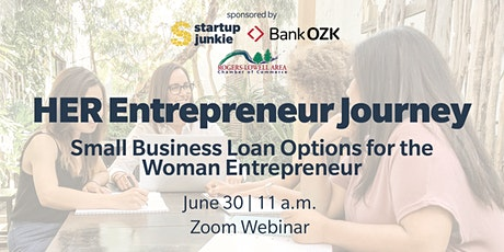 Small Business Loan Options for the Woman Entrepreneur tickets