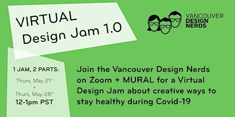 VIRTUAL Design Jam 1.0 tickets