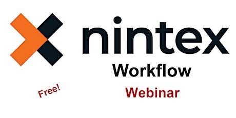 Nintex Workflow - Introduction Webinar - Free tickets