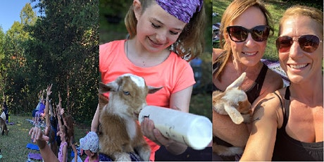 Baby Goat Yoga is Back! hosted by Zenitry and Mey Farm tickets