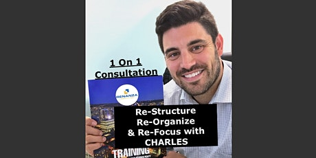 1 on 1 CONSULTATION WITH CHARLES (1HR) tickets