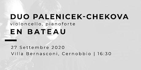 EN BATEAU - Jan Palenicek (violoncello), Jitka Cechova (pianoforte) biglietti