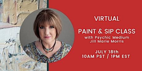 Virtual Paint & Sip Class tickets