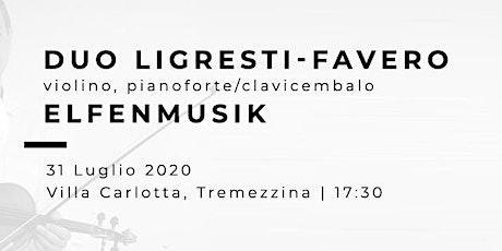 ELFENMUSIK - Enzo Ligresti (violino) Valter Favero (pianoforte) biglietti