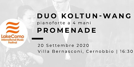 PROMENADE - Florian Koltun & Xin Wang (pianoforte a 4 mani) biglietti