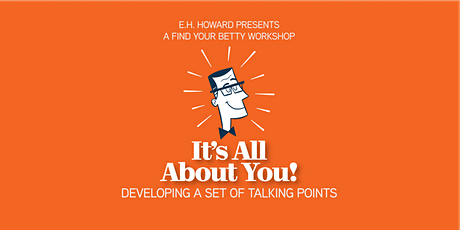 It's All About You...developing a set of killer talking points tickets