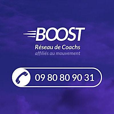 Réseau Boost logo