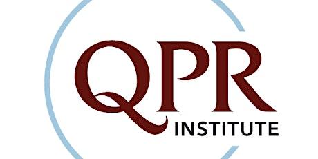 Prevención de Suicidio: QPR entradas