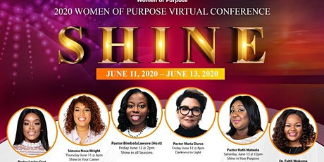 SHINE 2020-Women of Purpose Conference tickets