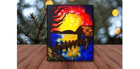Lake Bridge LIVE Virtual Paint and Sip - Step by Step Class  (06-03-2020 starts at 6:00 PM) tickets