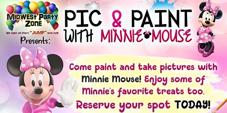 Pic and Paint with Minnie Mouse!! tickets