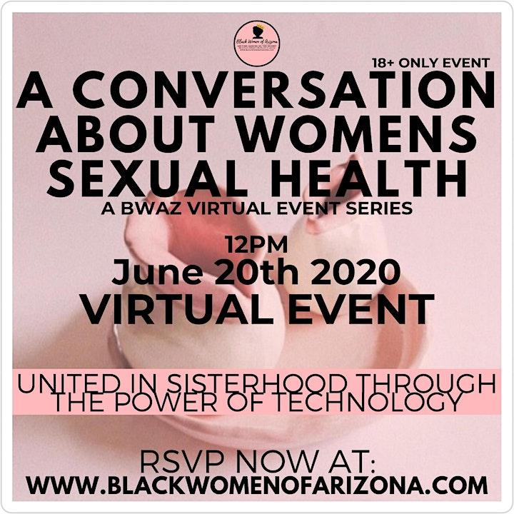 BWAZ #UnitedInSisterhood A Conversation About Sexual Health image