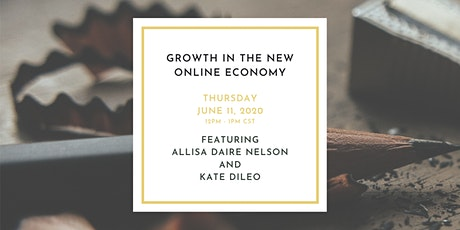 Growth in the New Online Economy tickets